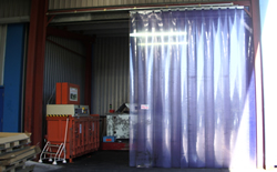 Pvc Strip Curtain Repairs Wigan