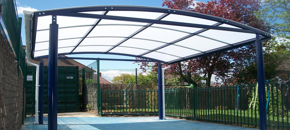 Canopies & Shelters Installed  Skelmersdale