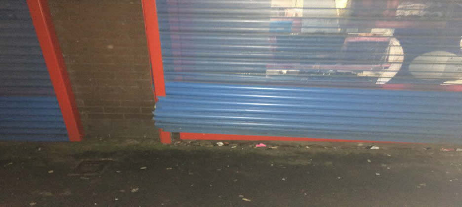 Emergency Commercial Roller Shutter Repairs Ormskirk