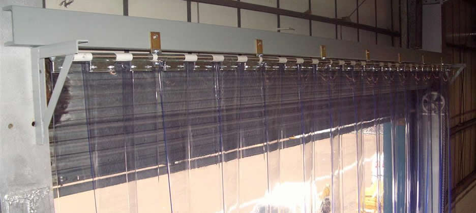 Pvc Strip Curtains Installed  Wigan